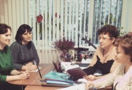 Встреча с Управлением Соцзащиты Рузского района.